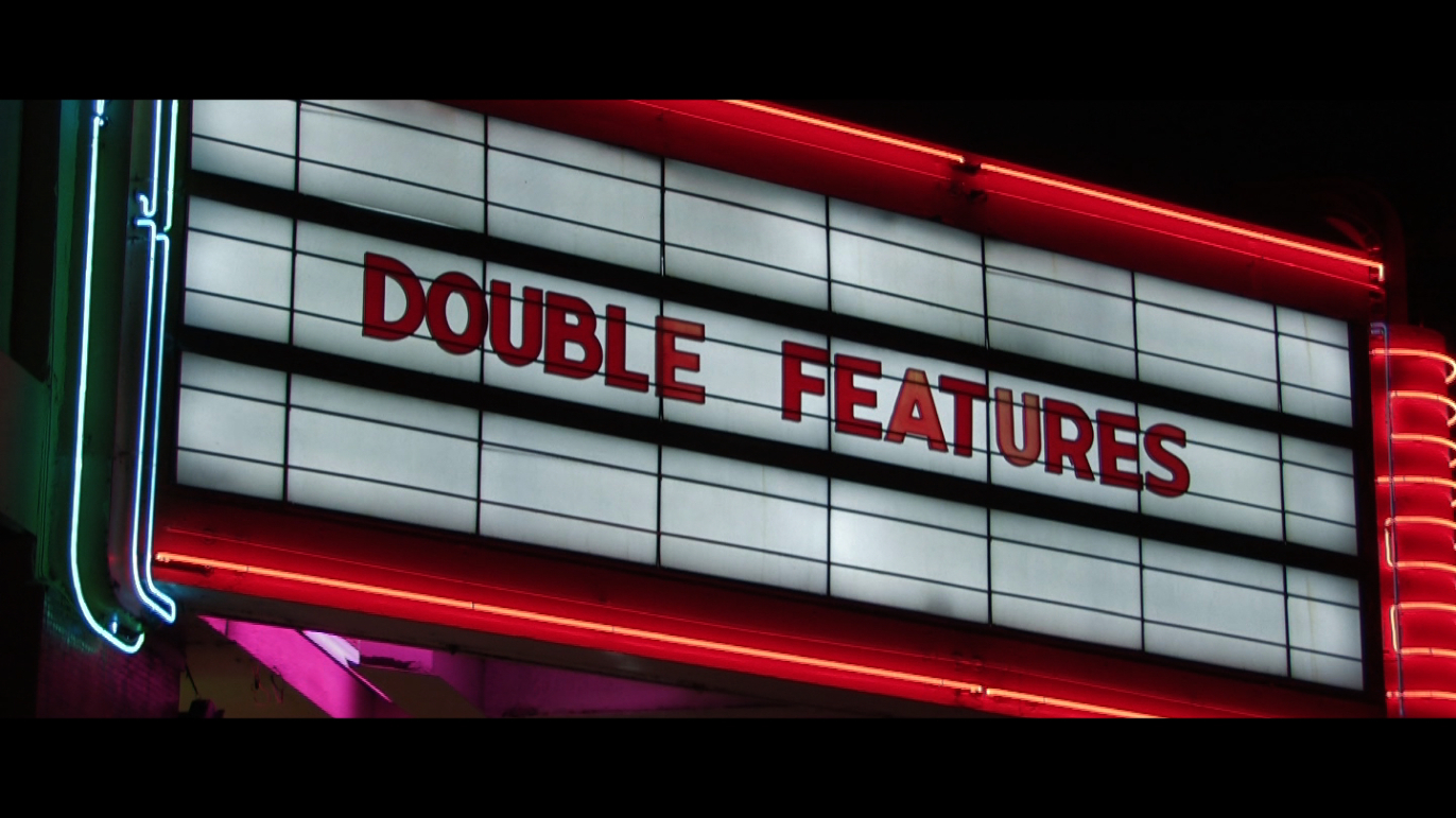 Double Features Marquee