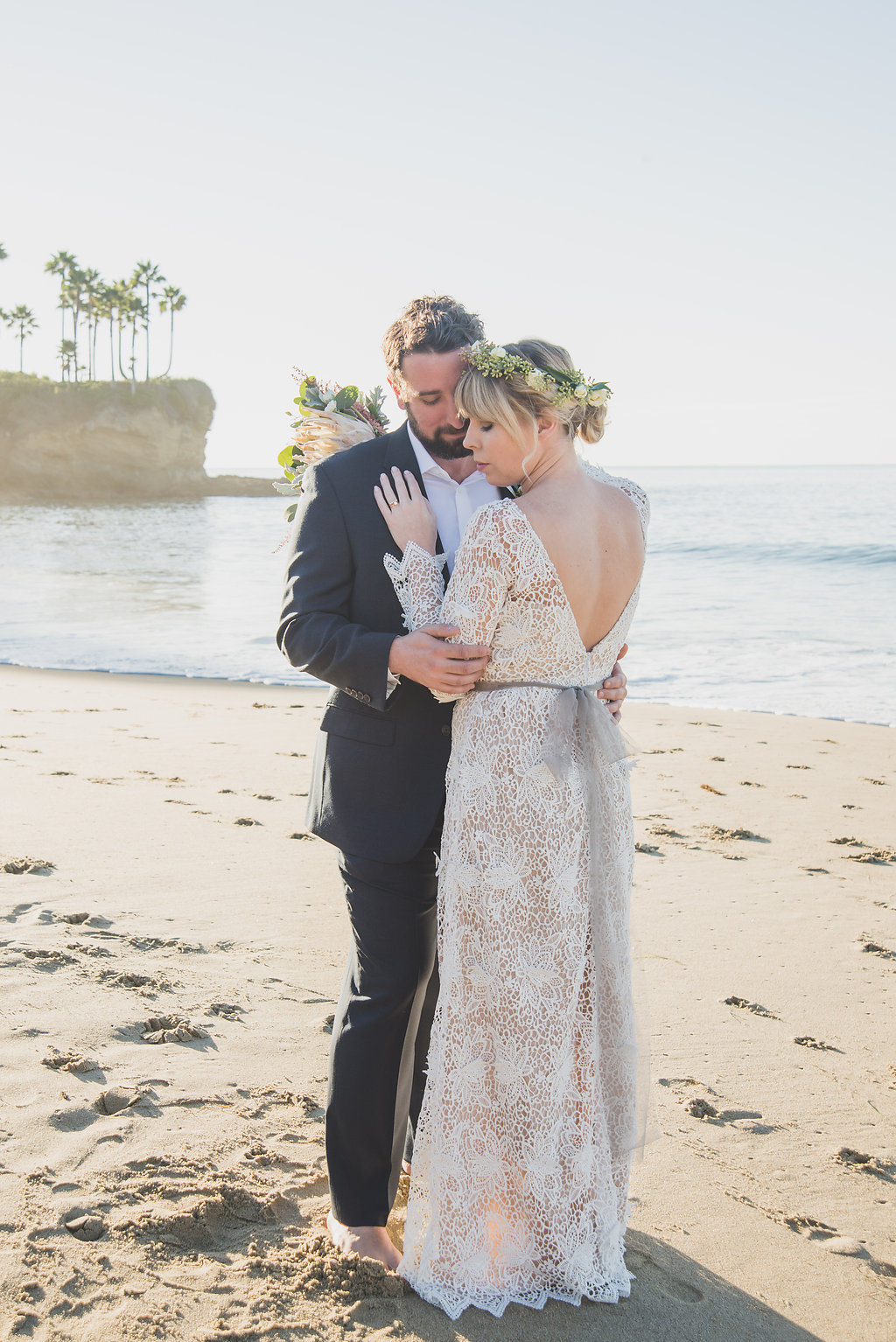 CAIT + TIO | SUNRISE ELOPEMENT  LAGUNA CALIFORNIA