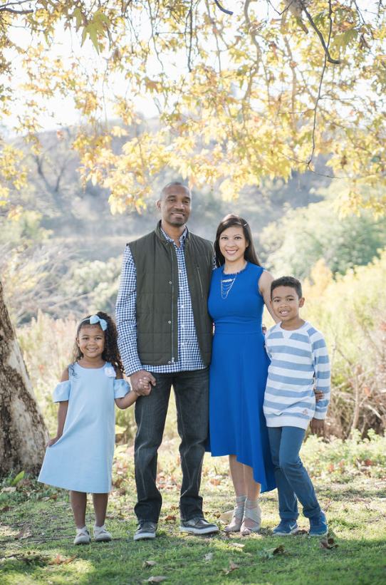 THE CHRISTOPHER FAMILY | BONELLI REGIONAL PARK  SAN DIMAS CALIFORNIA
