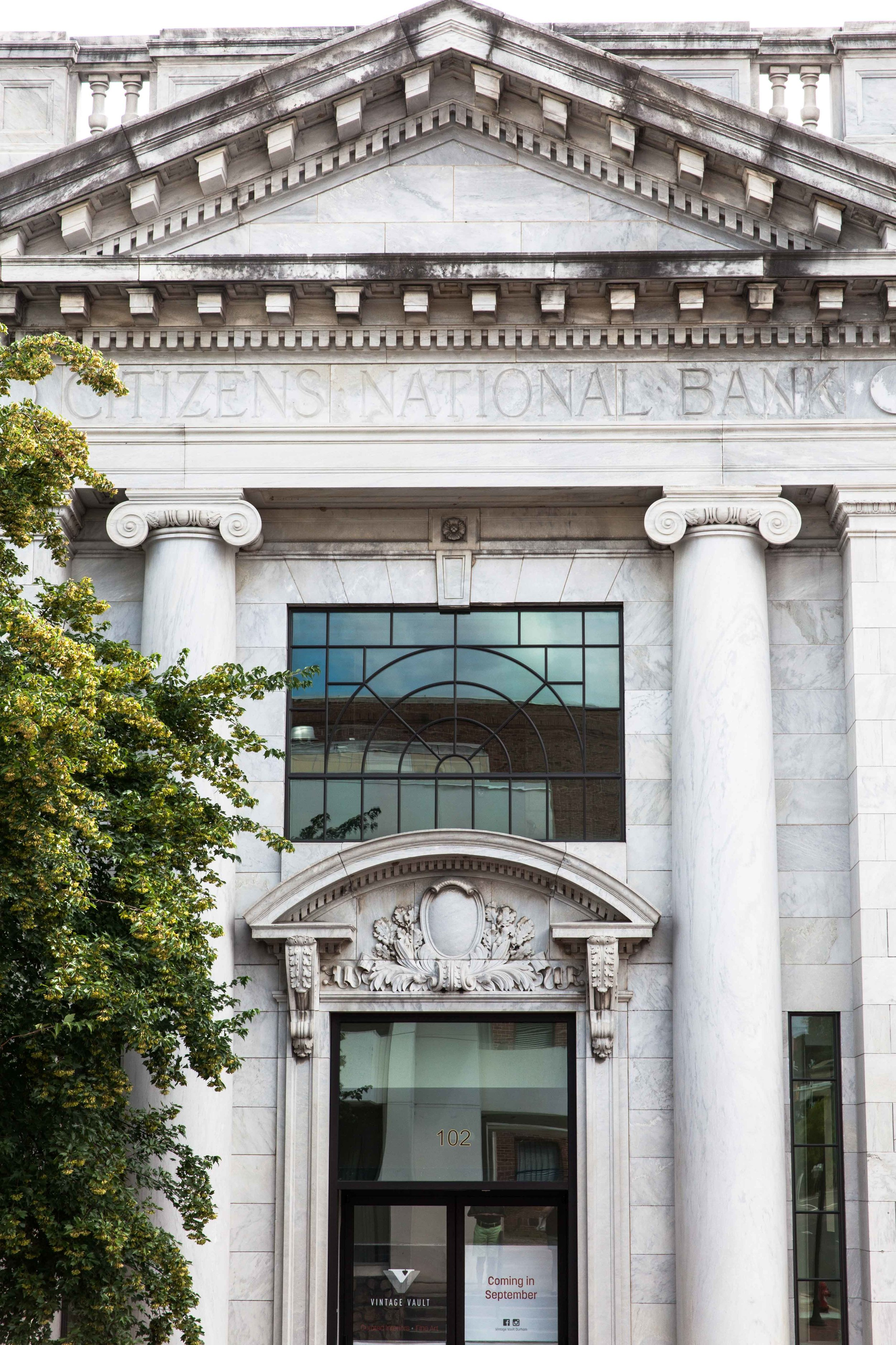 Vintage Vault will launch in the historic Citizens National Bank building