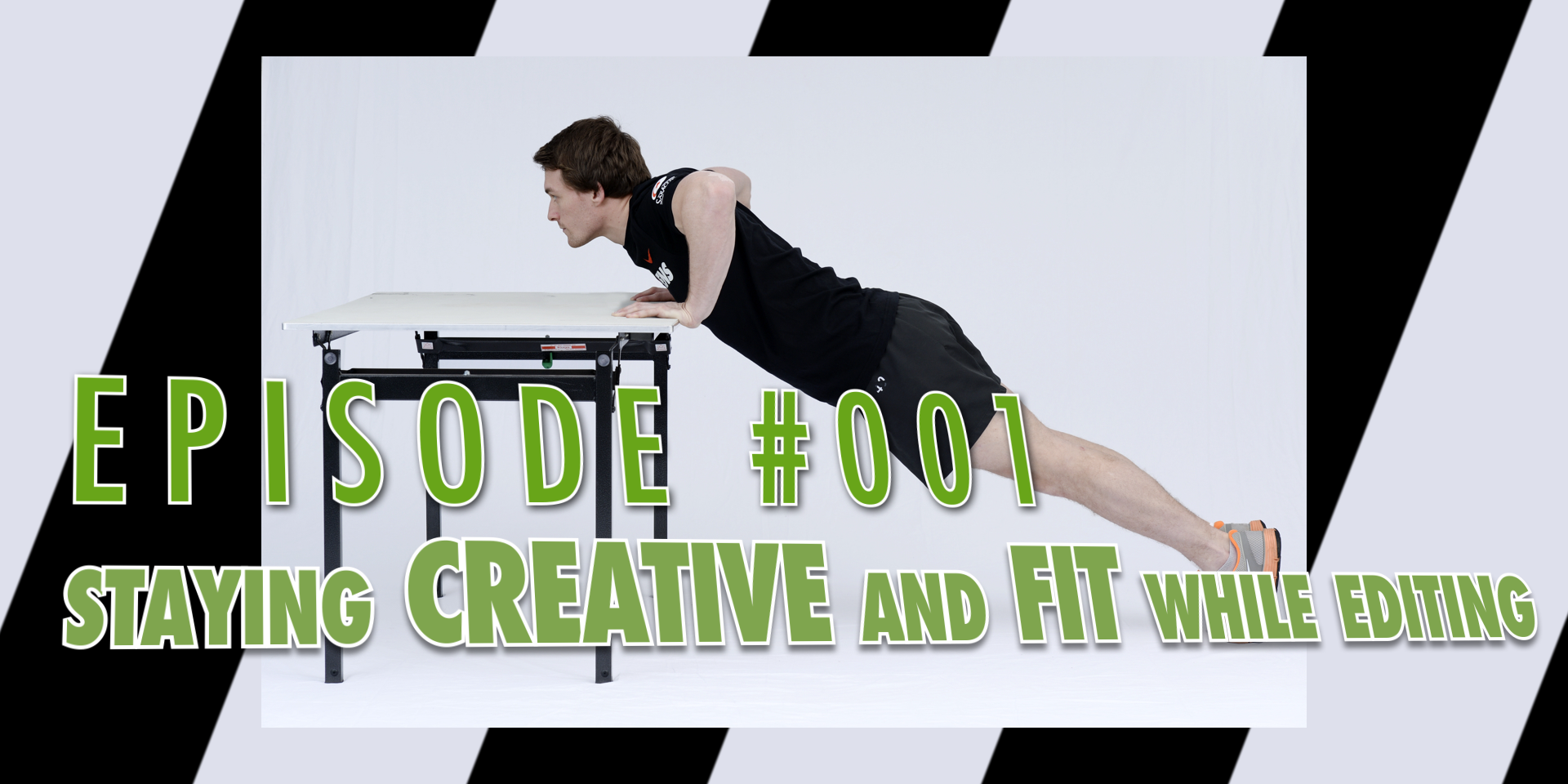 Episode 001: Staying CREATIVE and FIT while editing