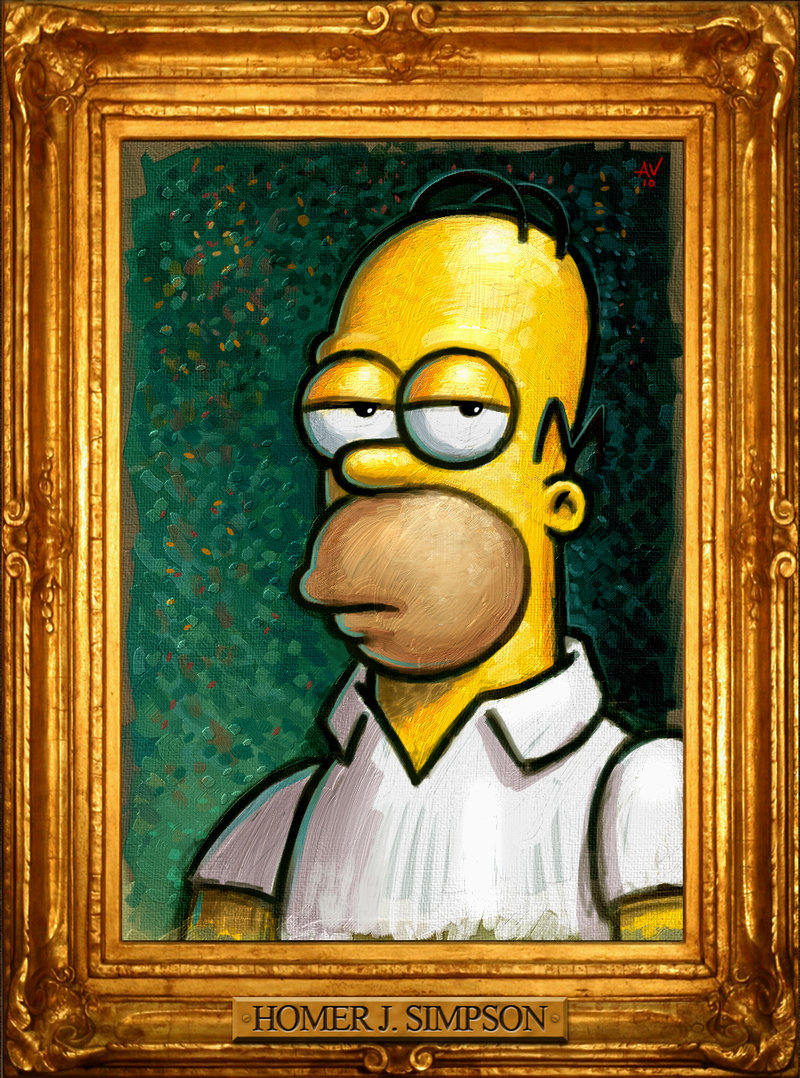 The wise sage Homer Simpson