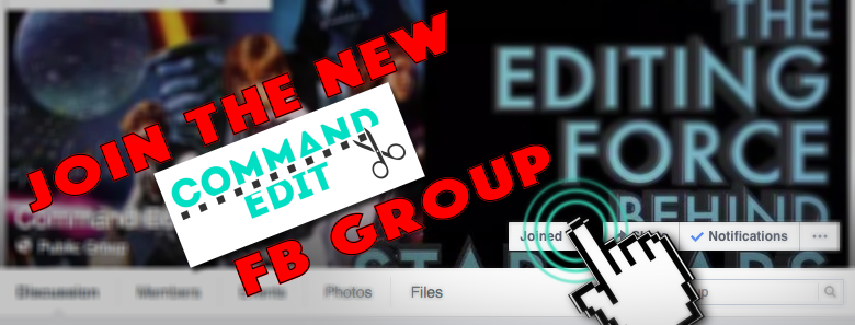 Join the Command Edit Podcast Facebook Group