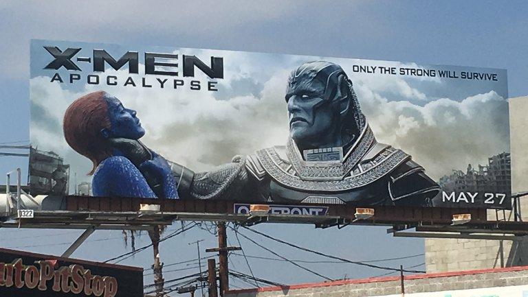 Controversy over X-men Apocalypse billboard
