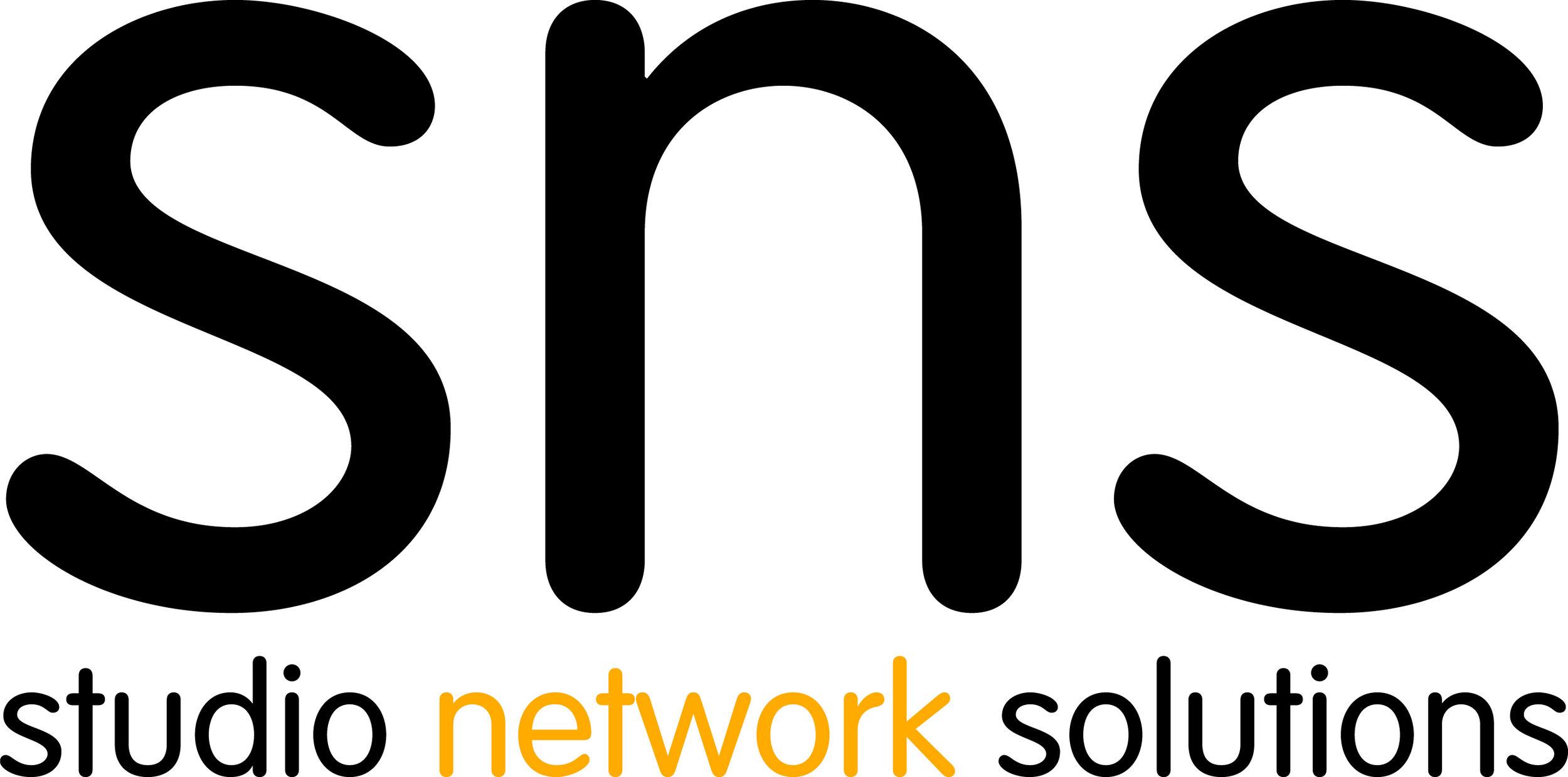 SNS Studio Network Storage Solutions Post Production Sponsor