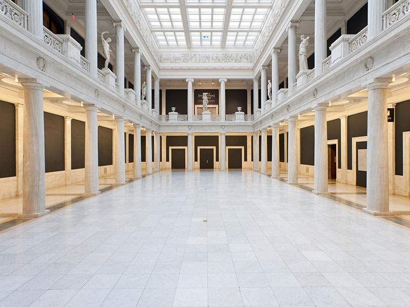 Hall of Sculpture at Carnegie Museum of Art