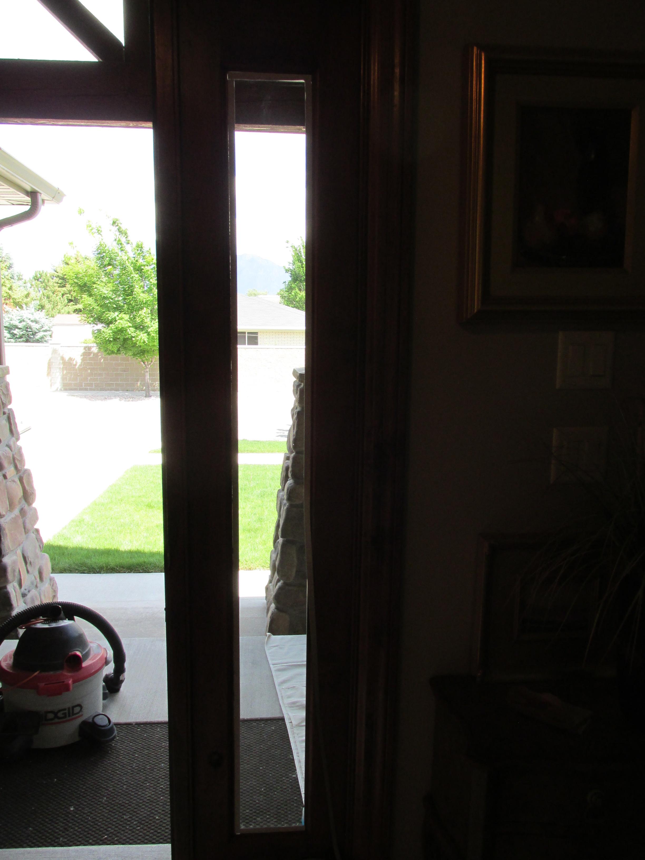 Door 2 Before ...