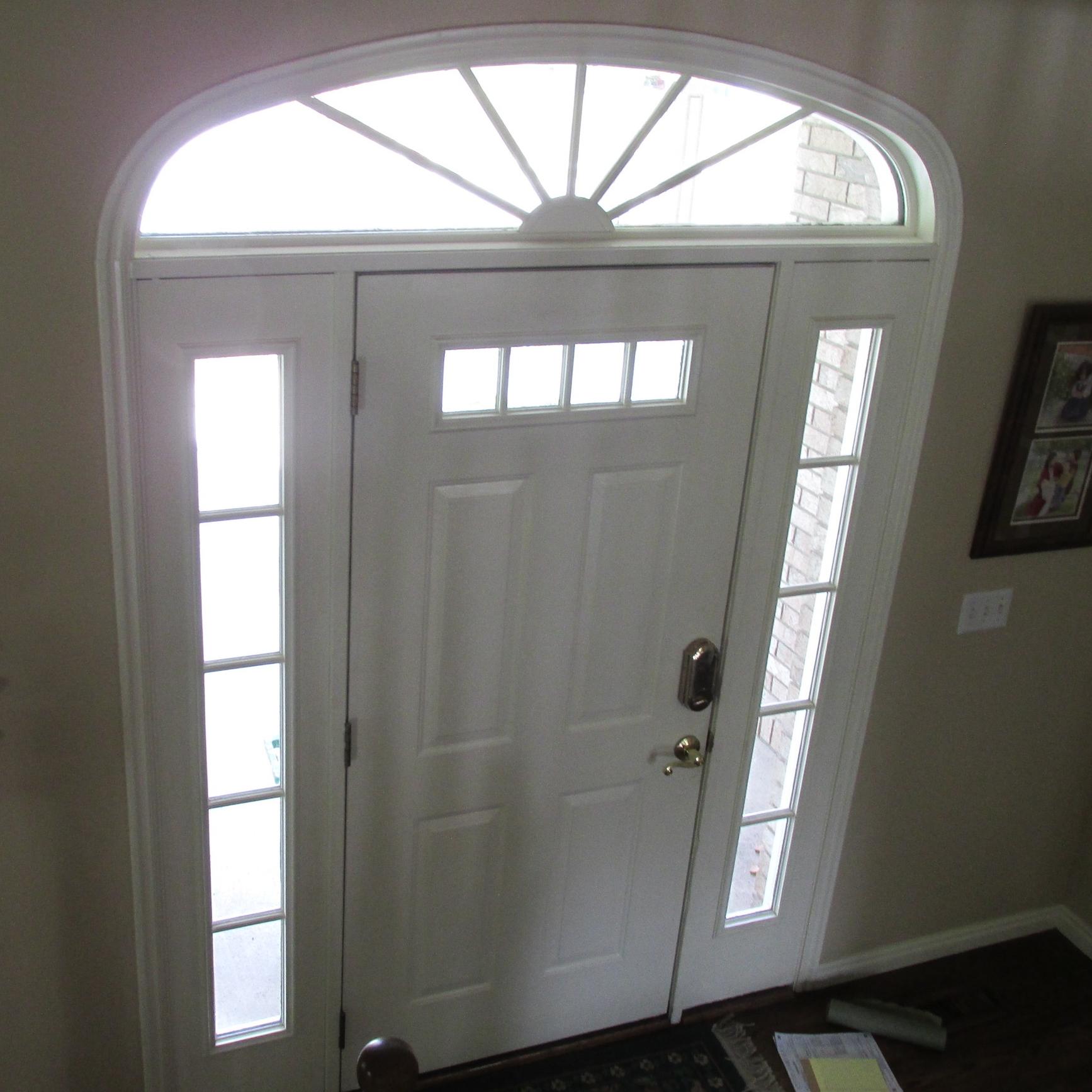 Door 1 Before ...