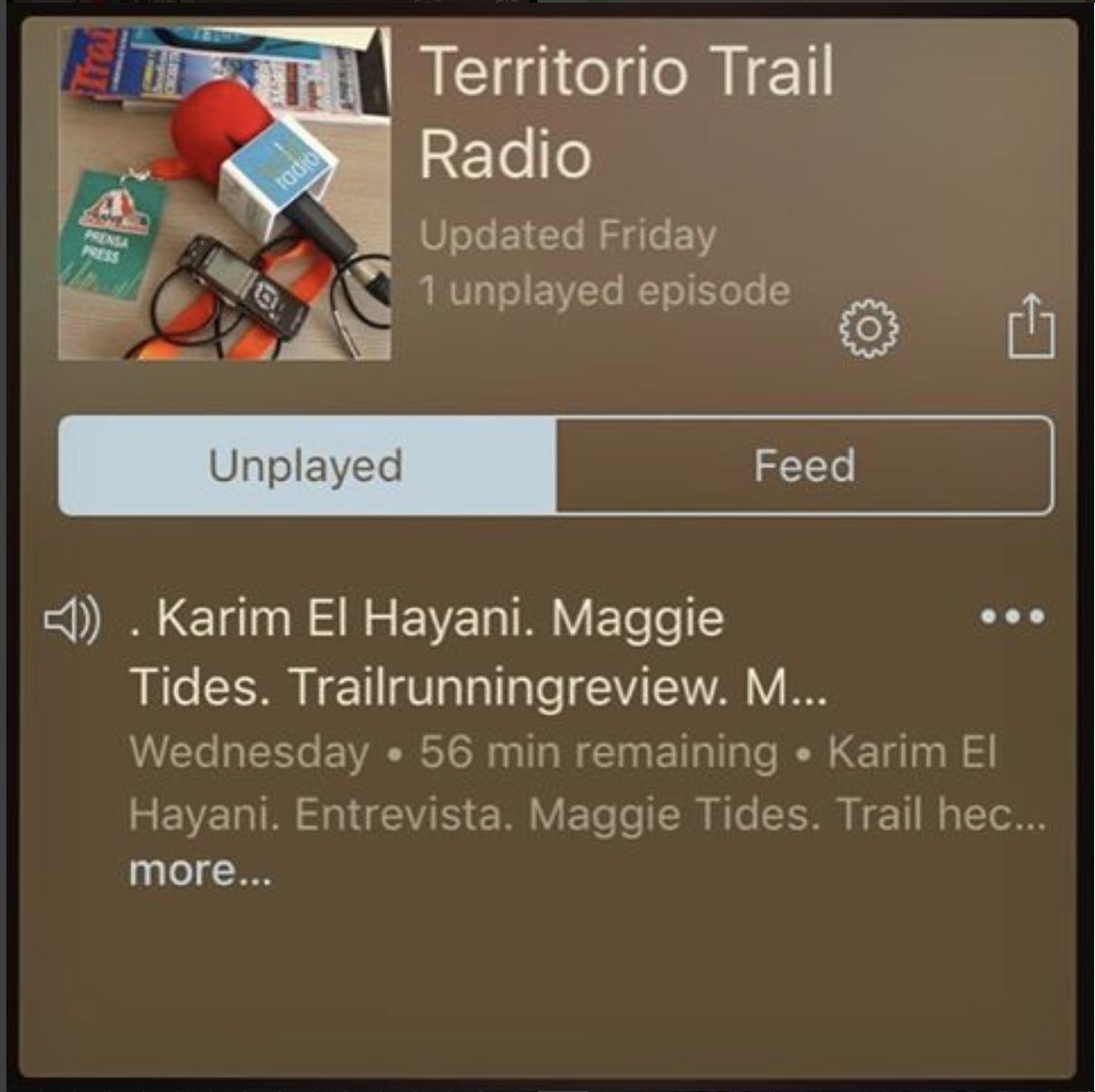 Territorio Trail Radio
