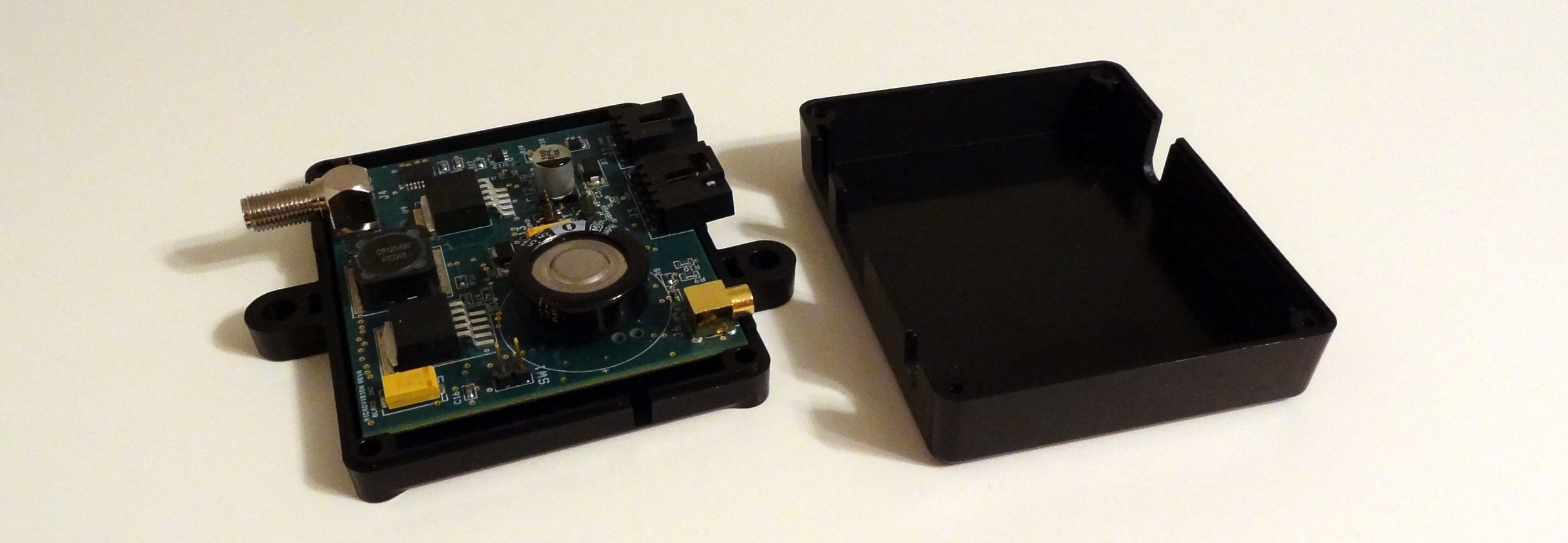 An example of a simple injection molded clamshell housing (via  partsnap )