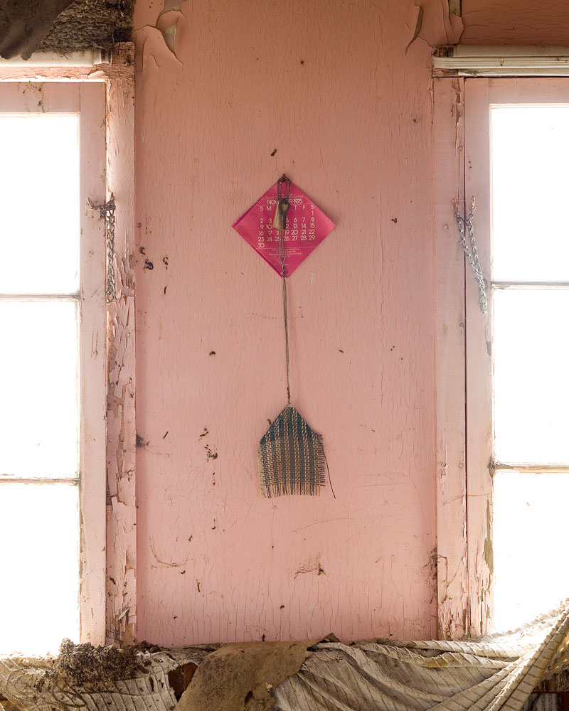"""Title: 4358B-19617 (fly swatter), Archival pigment print, 16x20"""", 2008"""