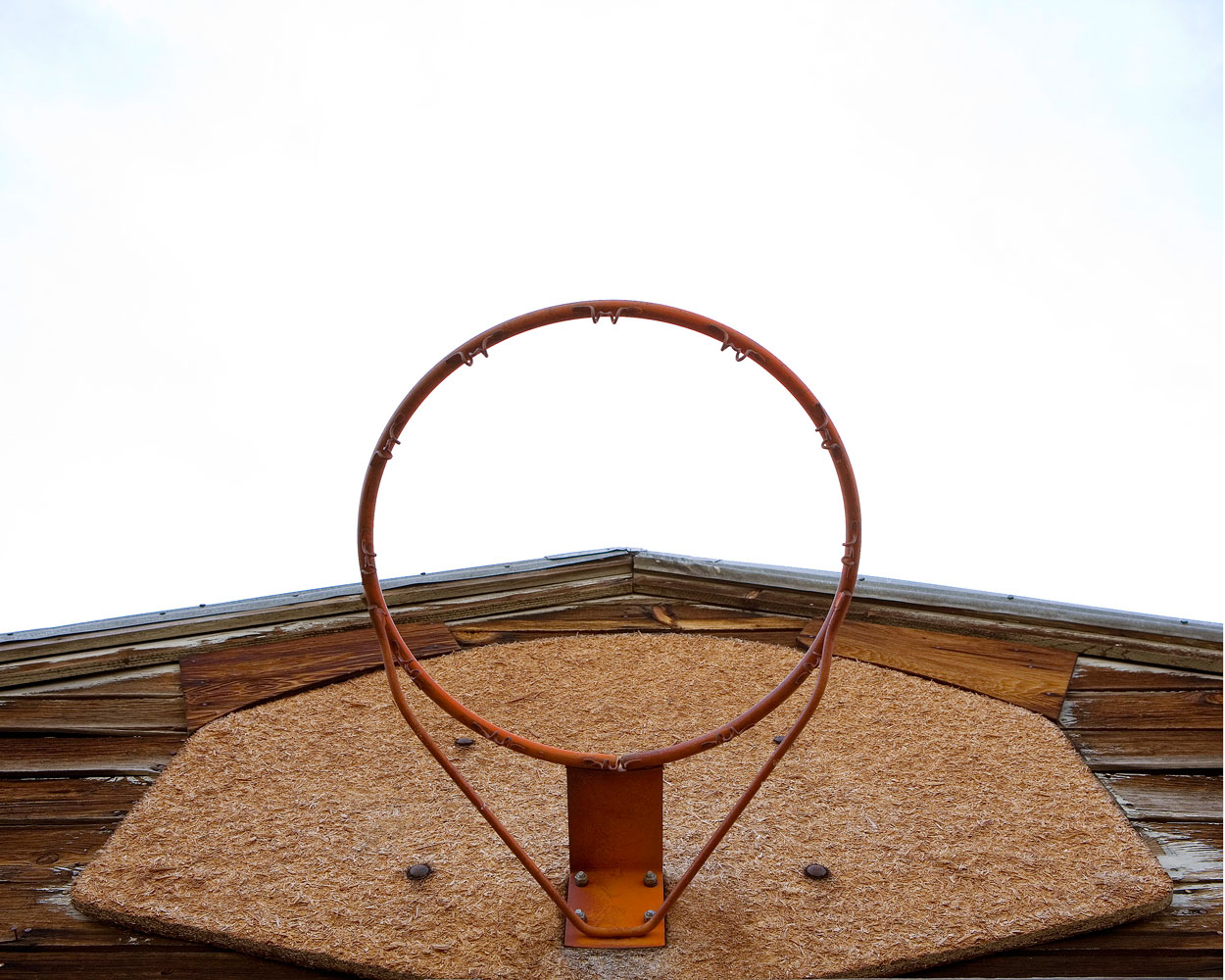 """Title: 5100A-19617 (basketball hoop), Archival pigment print, 20x16"""", 2008"""