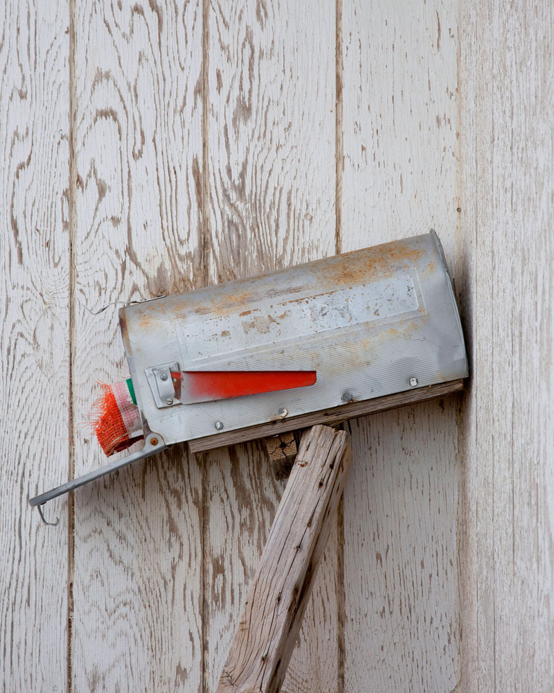 """Title: 148D-19617 (mailbox), Archival pigment print, 16x20"""", 2011"""