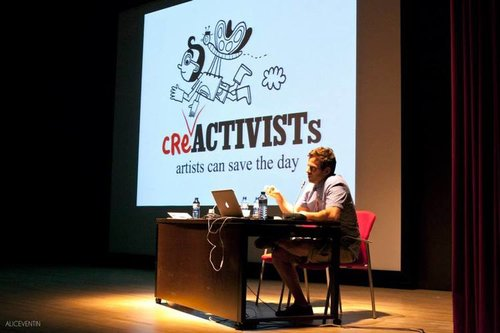 Talk at  ILUSTRAFIC - Valencia, Spain