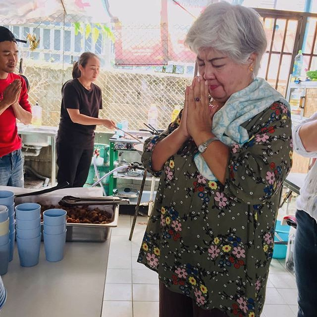 This is our Thai auntie, Pa' Tuy. She has helped with all five of the Timothy Internships here in Thailand and helped several of our Go To Nations missionaries learn Thai. We cherish this amazing woman of God! 🔺Who has been a blessing in your life? Tag them in the comments below! 🔺