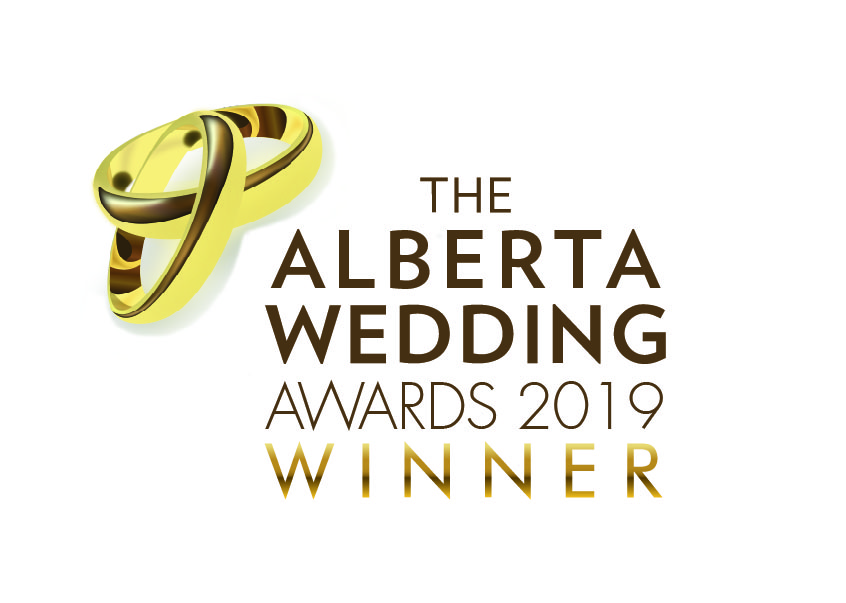Alberta's Romantic Wedding Venue of the Year! So grateful to all of you who voted for us!