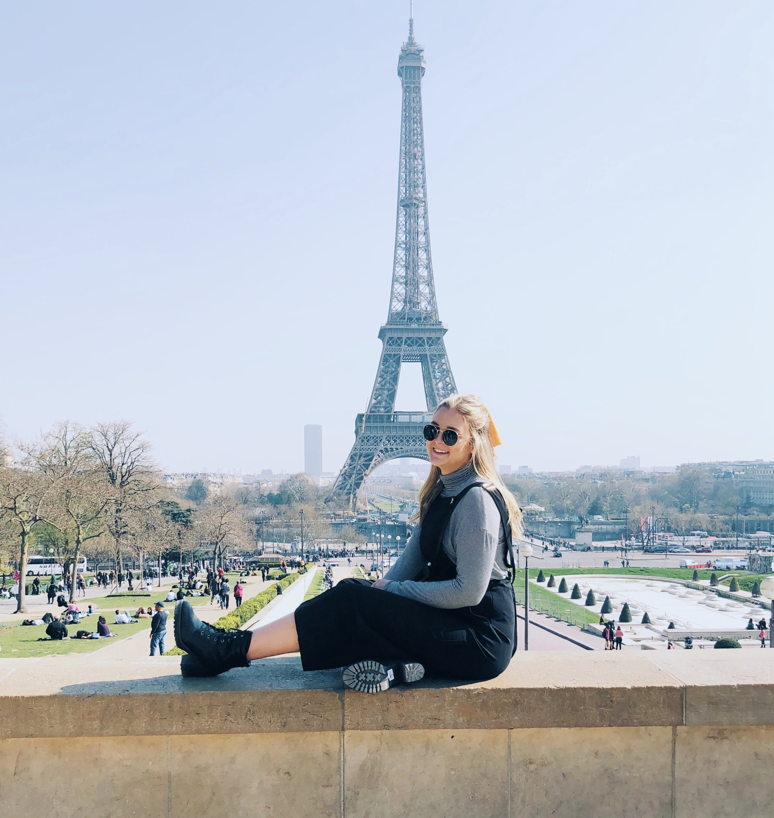 Joanna Lilly in Paris, France!