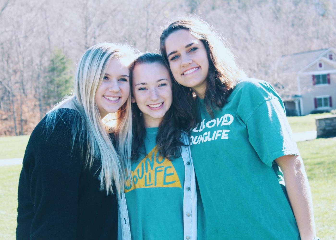 Charlotte Ann Beers, Emily Lenning & Sarah Stevens, Alpha Class '18