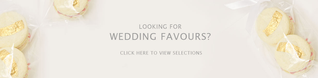 Wedding favours by The Frosted Cake Boutique