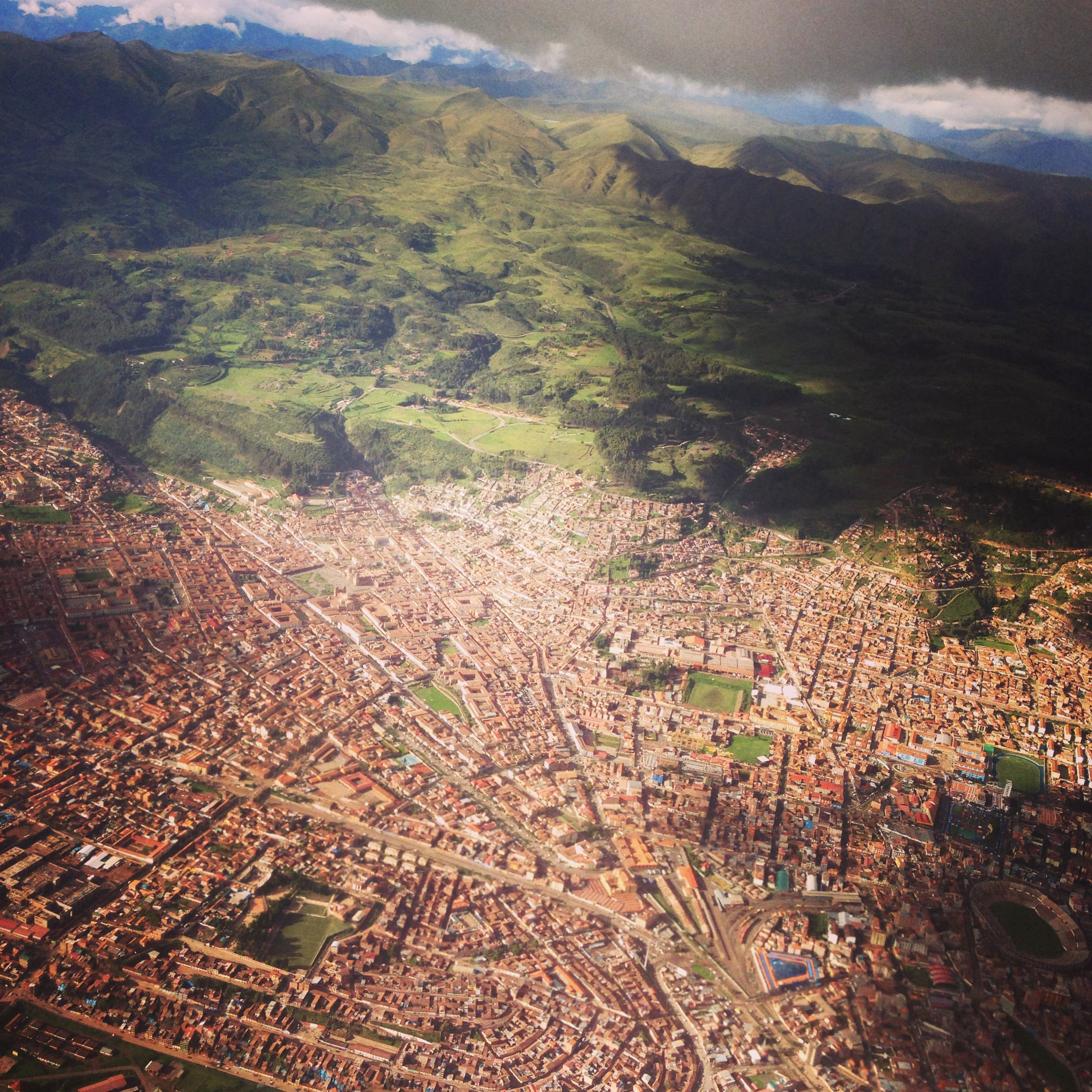 Aerial view Cusco Peru - 3 Days*