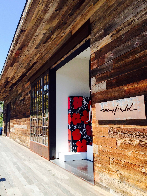 Maxfield store, Malibu Country Mart - 3 Days*
