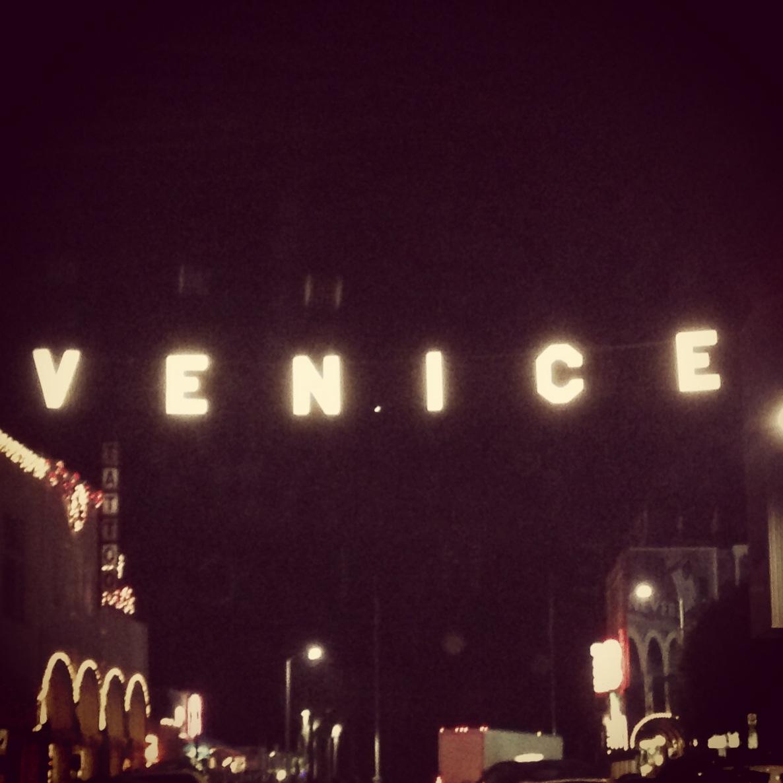 Venice Beach Sign, Los Angeles California - 3 Days*