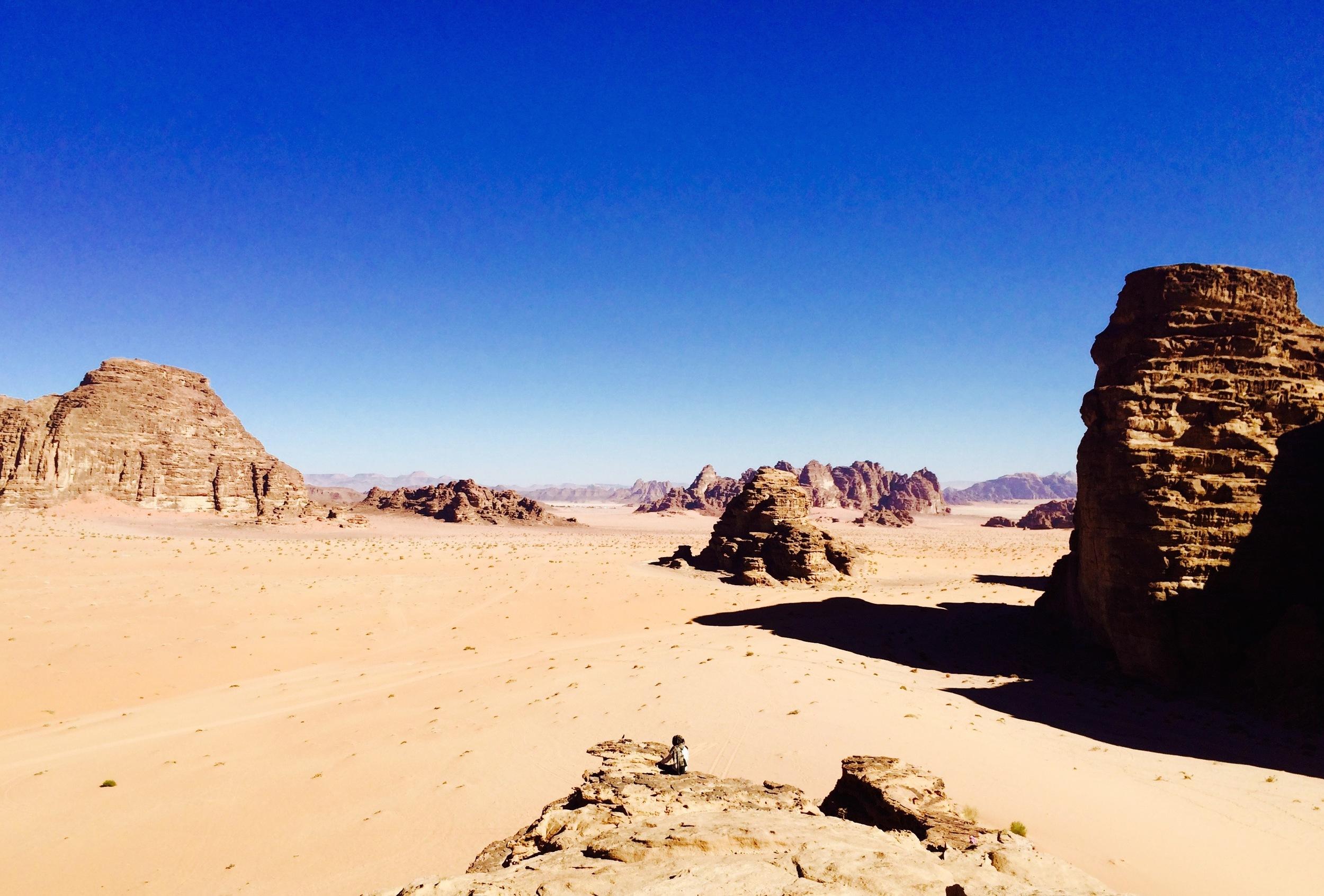 Meditation in the Wadi Rum, Jordan - 3 Days*