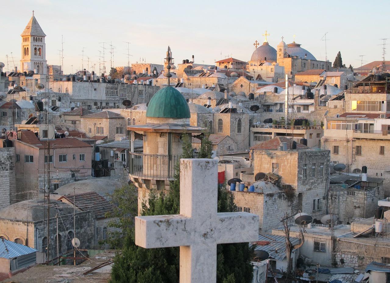 Above the roofs of Jerusalem's Old City, 3 Days*