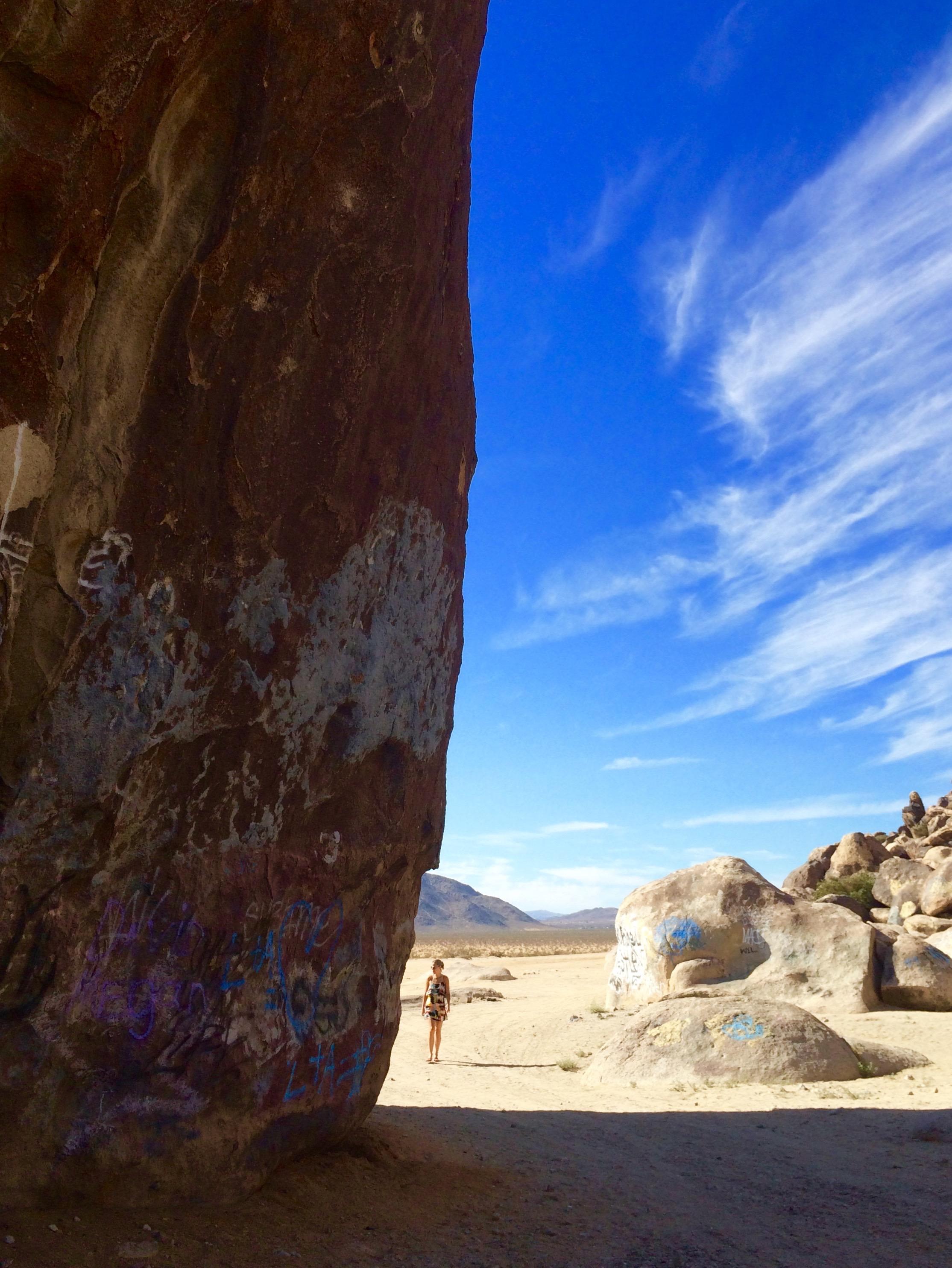 Alien Landing Strip and Giant Boulder, Joshua Tree California - 3 Days*