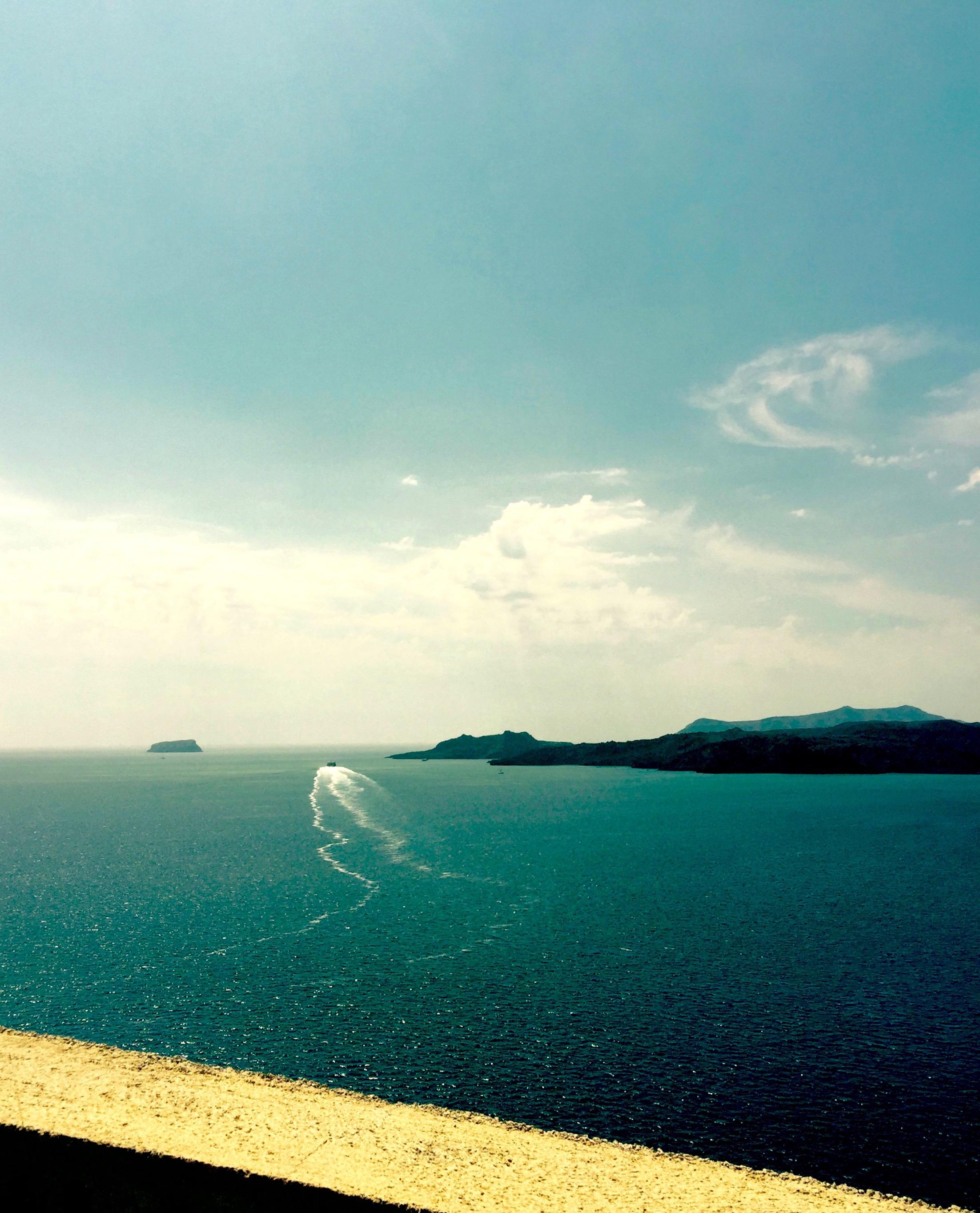 Boat Trails Ocean, Greek Islands Greece - 3 Days*