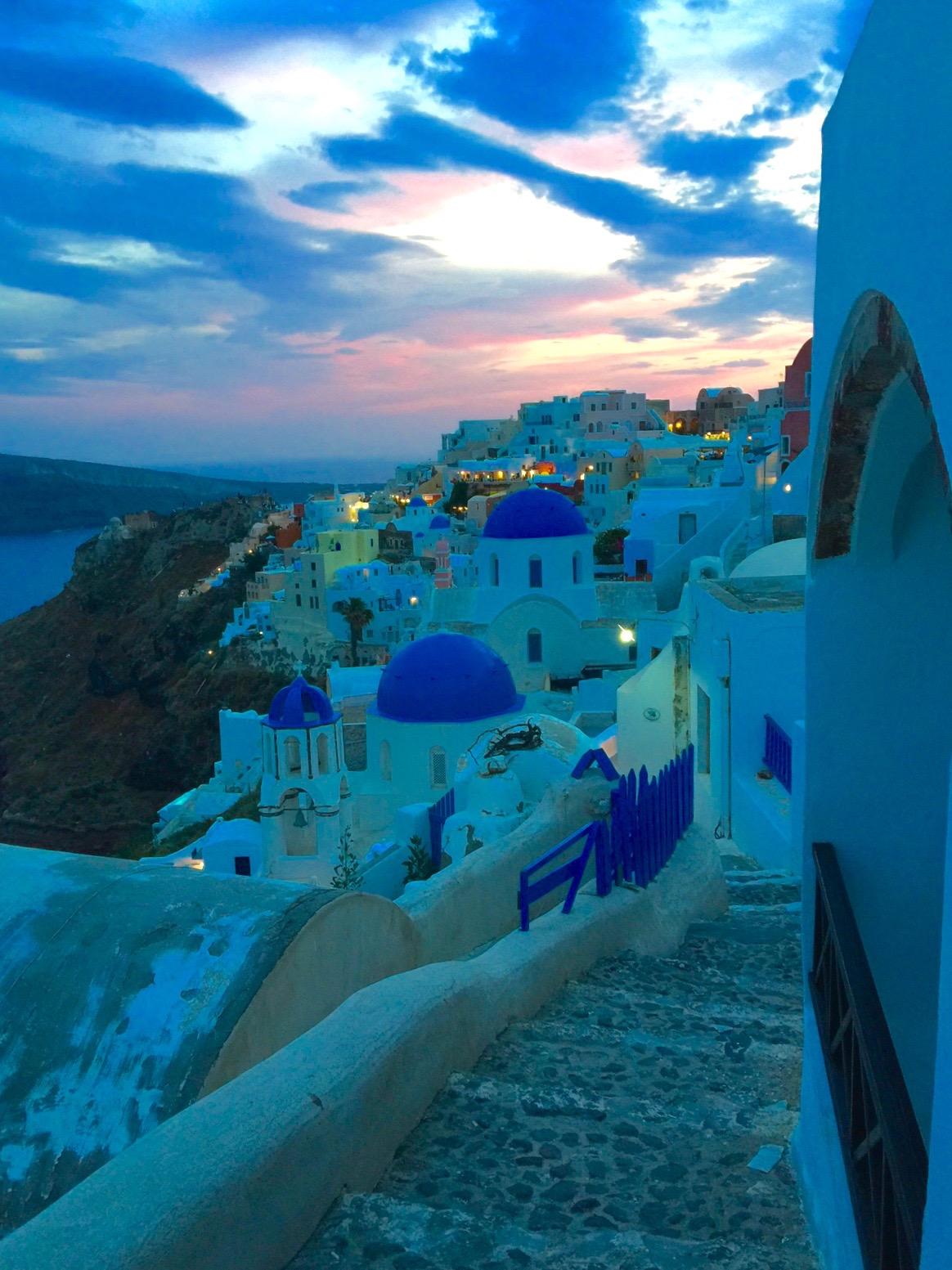 Sunset on Santorini, Greek Islands Greece - 3 Days*