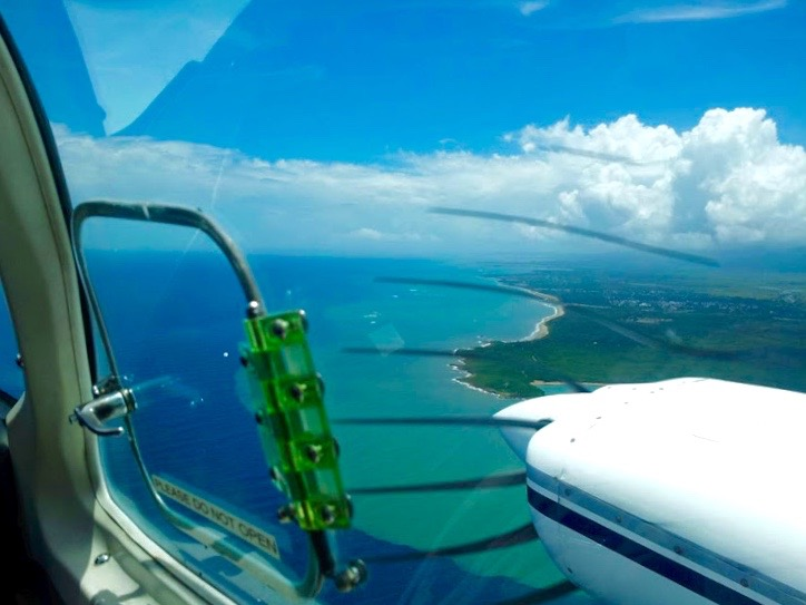 View from the plane, Vieques - 3 Days*