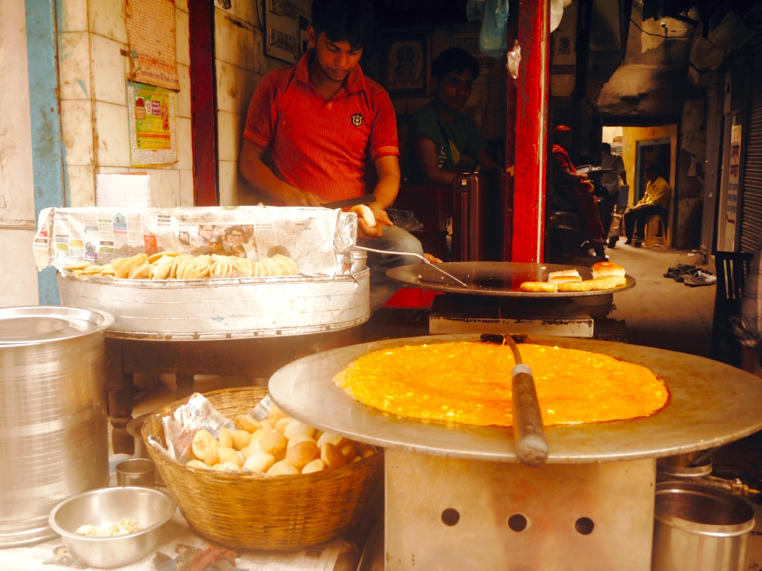 Dosa stand, Delhi India - 3 Days*
