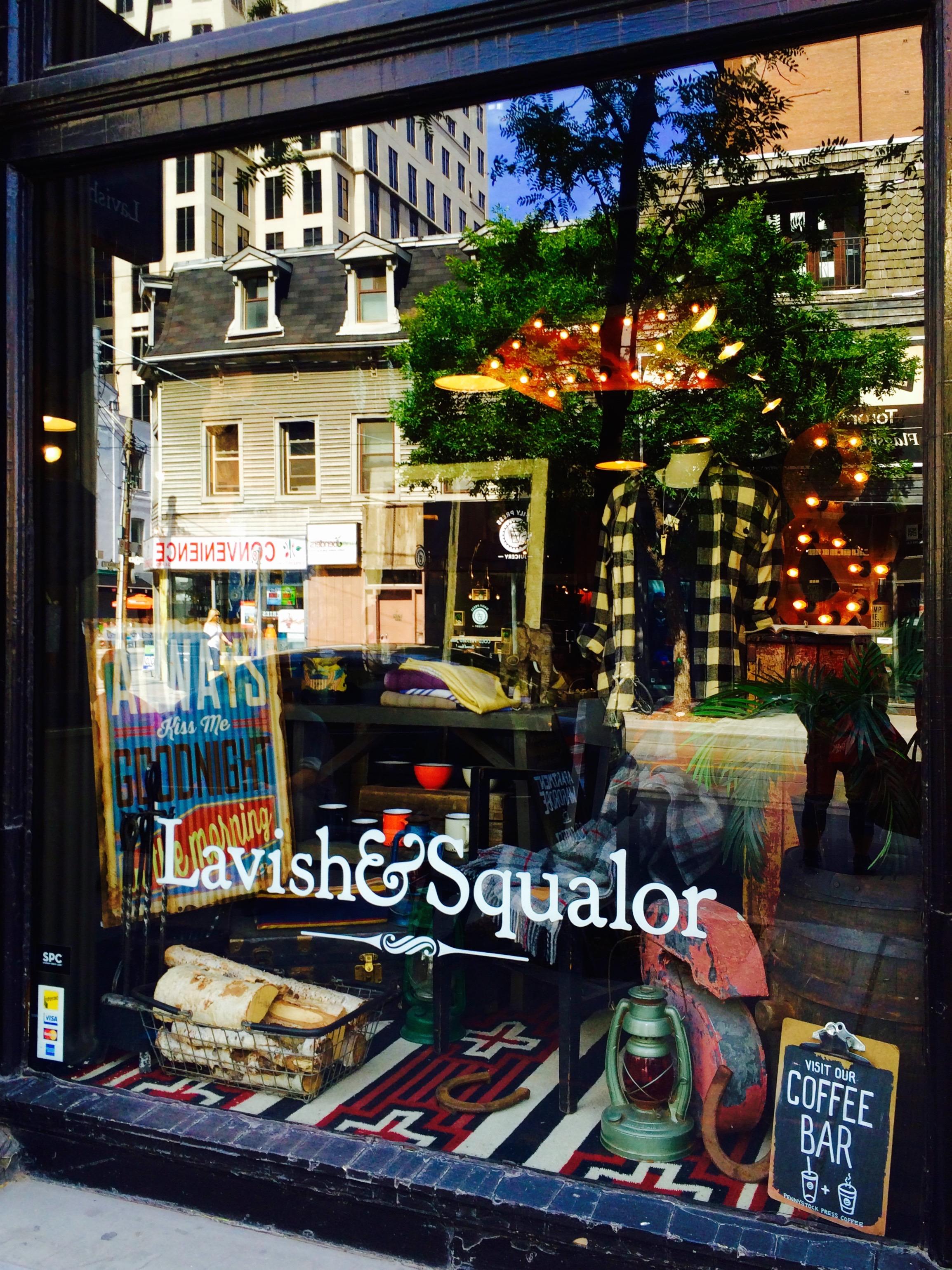 Lavish & Squalor Shop, Toronto Canada - 3 Days*