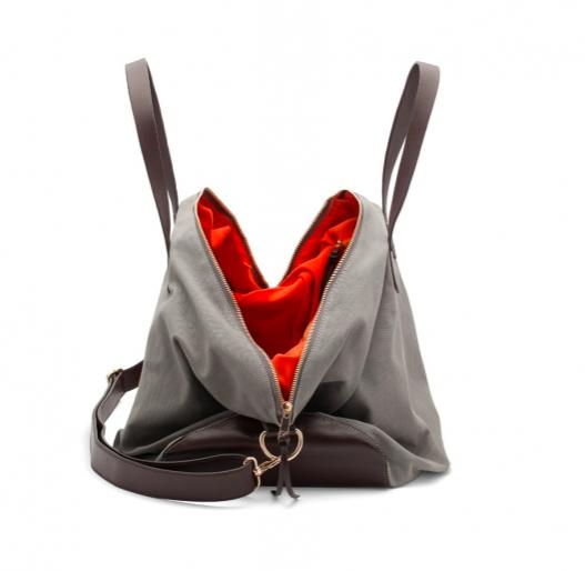 Canvas Leather Weekender Bag