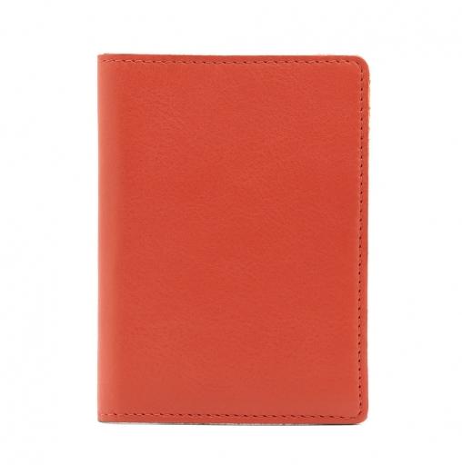 Slip Leather Passport Case