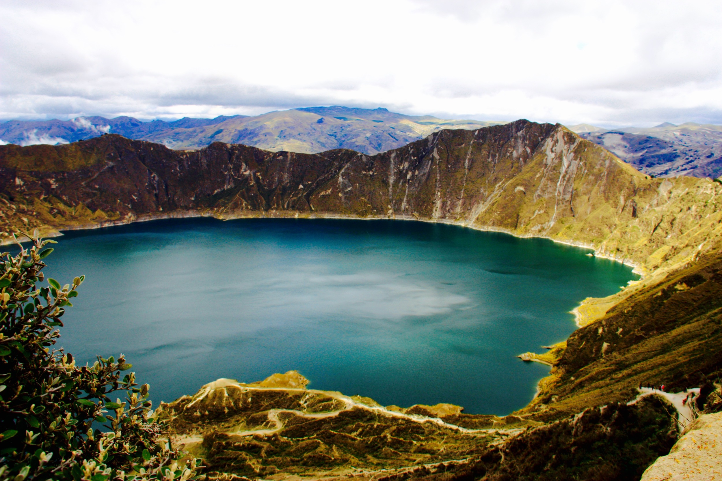 The Quilotoa Crater, Ecuador - 3 Days*