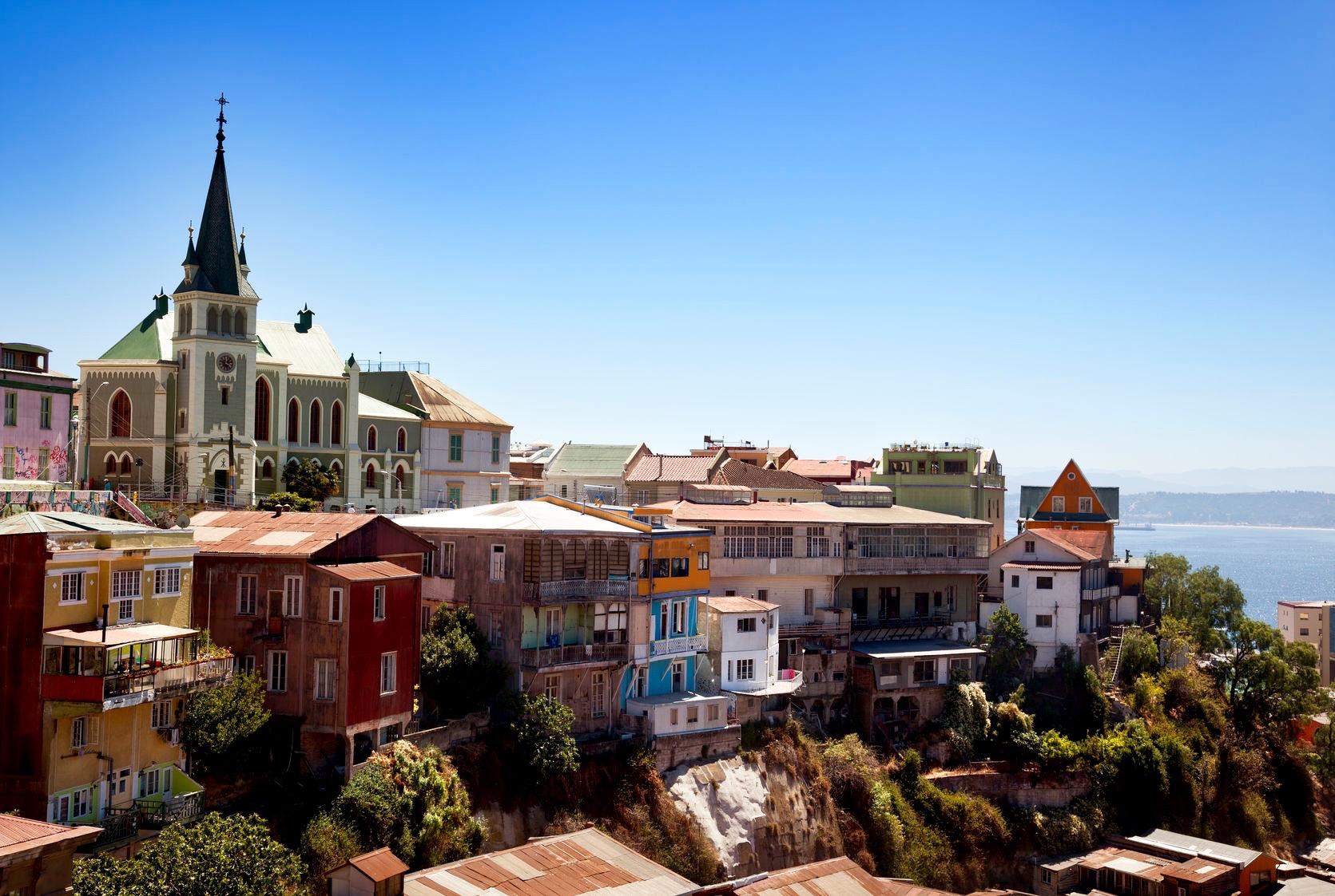 City View of Valparaiso Chile - 3 Days*
