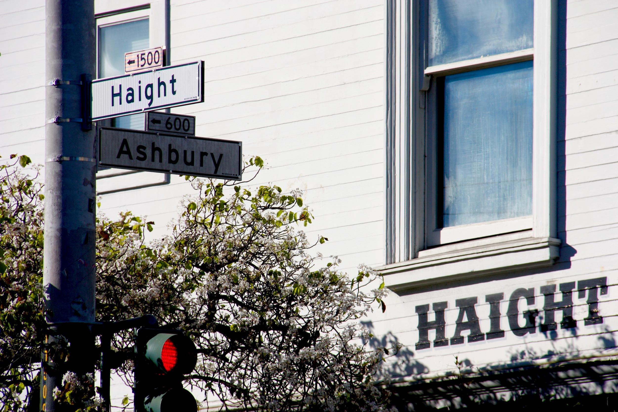 Haight & Ashbury corner, San Francisco California - 3 Days*