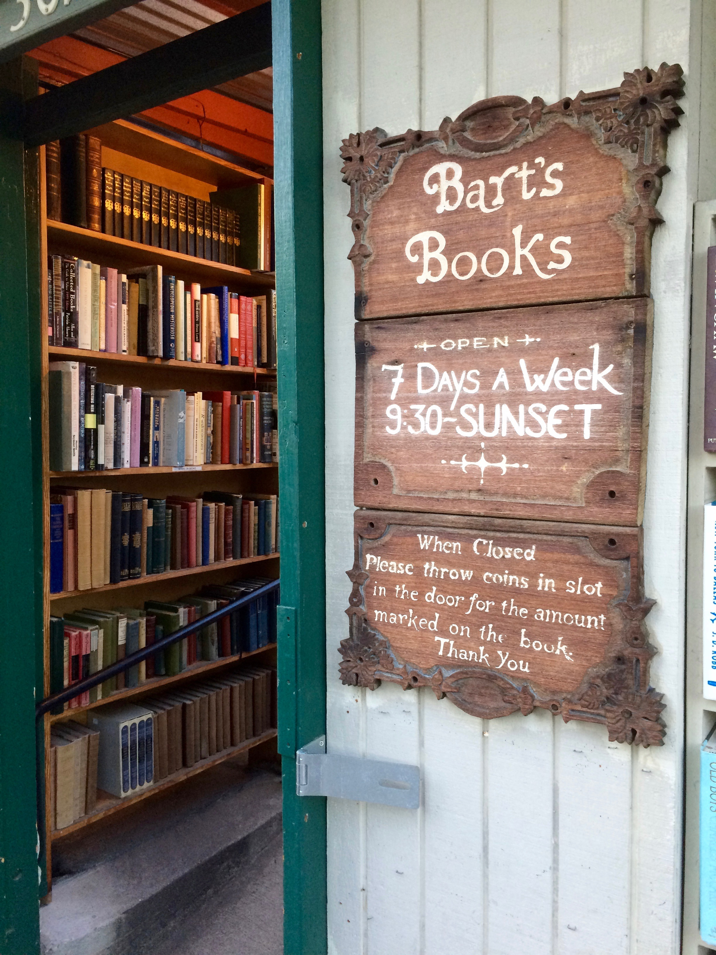 Bart's Book Store, Ojai California - 3 Days*