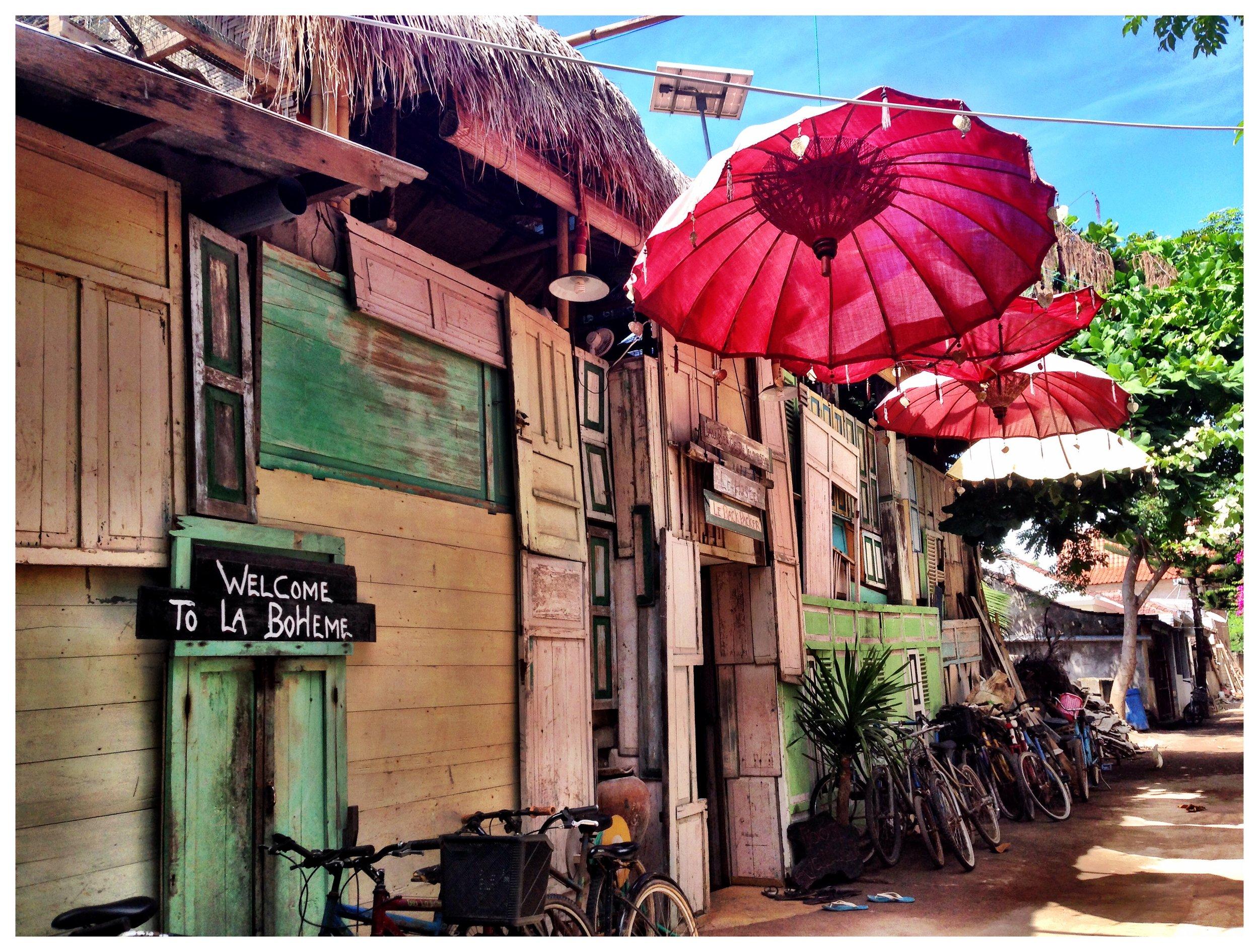 Bali alley umbrellas travel 3 days
