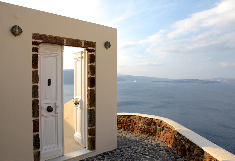 Santorini, Greece, Photo: Courtesy of Larkin Clark