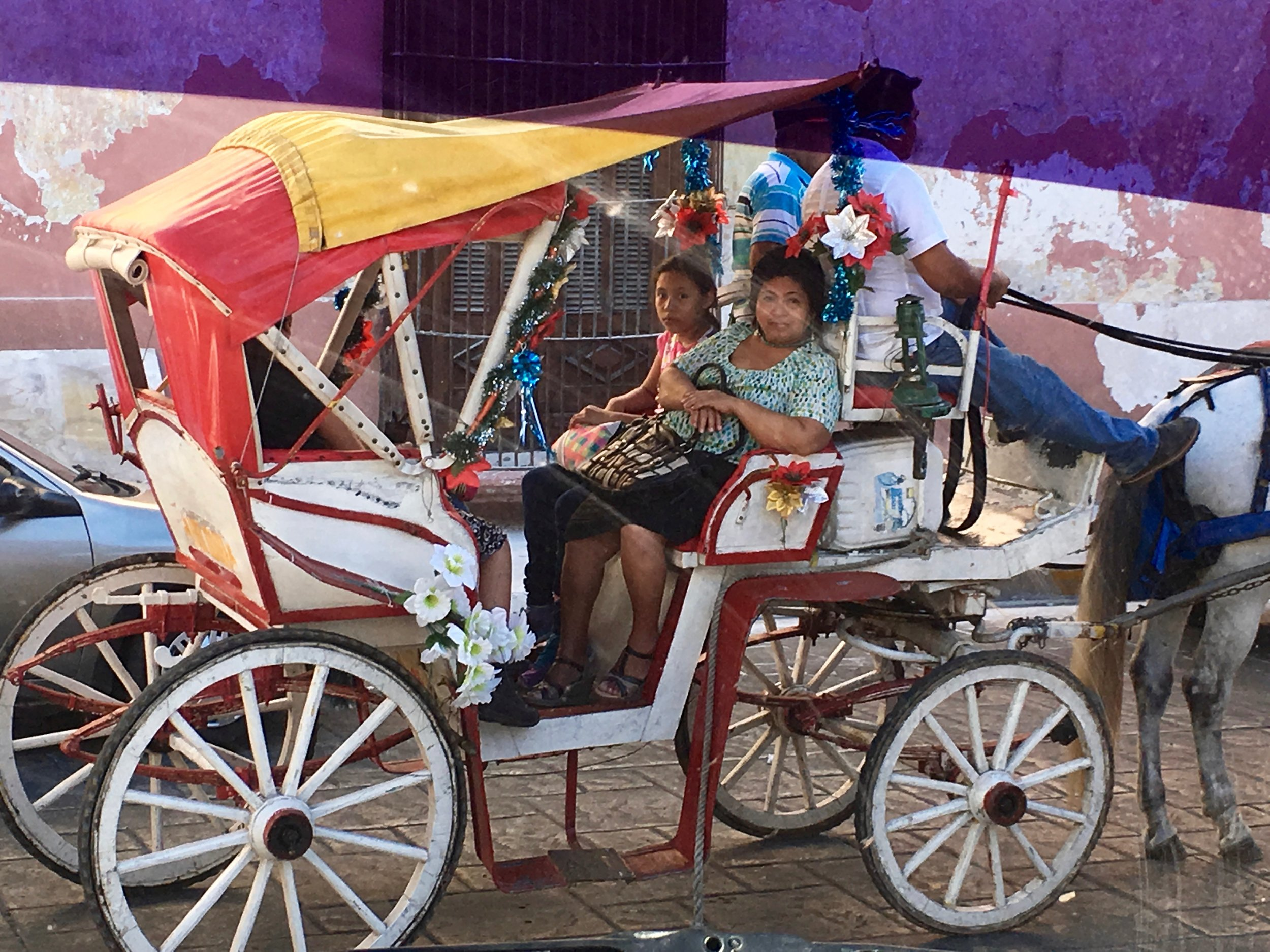 Andrea Emmerich, horse carriage in Tulum, Yucatan, Mexico - 3 Days*