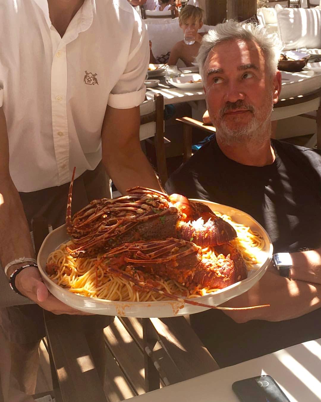 Roland Emmerich Mediterranean Lobster lunch - 3 Days*