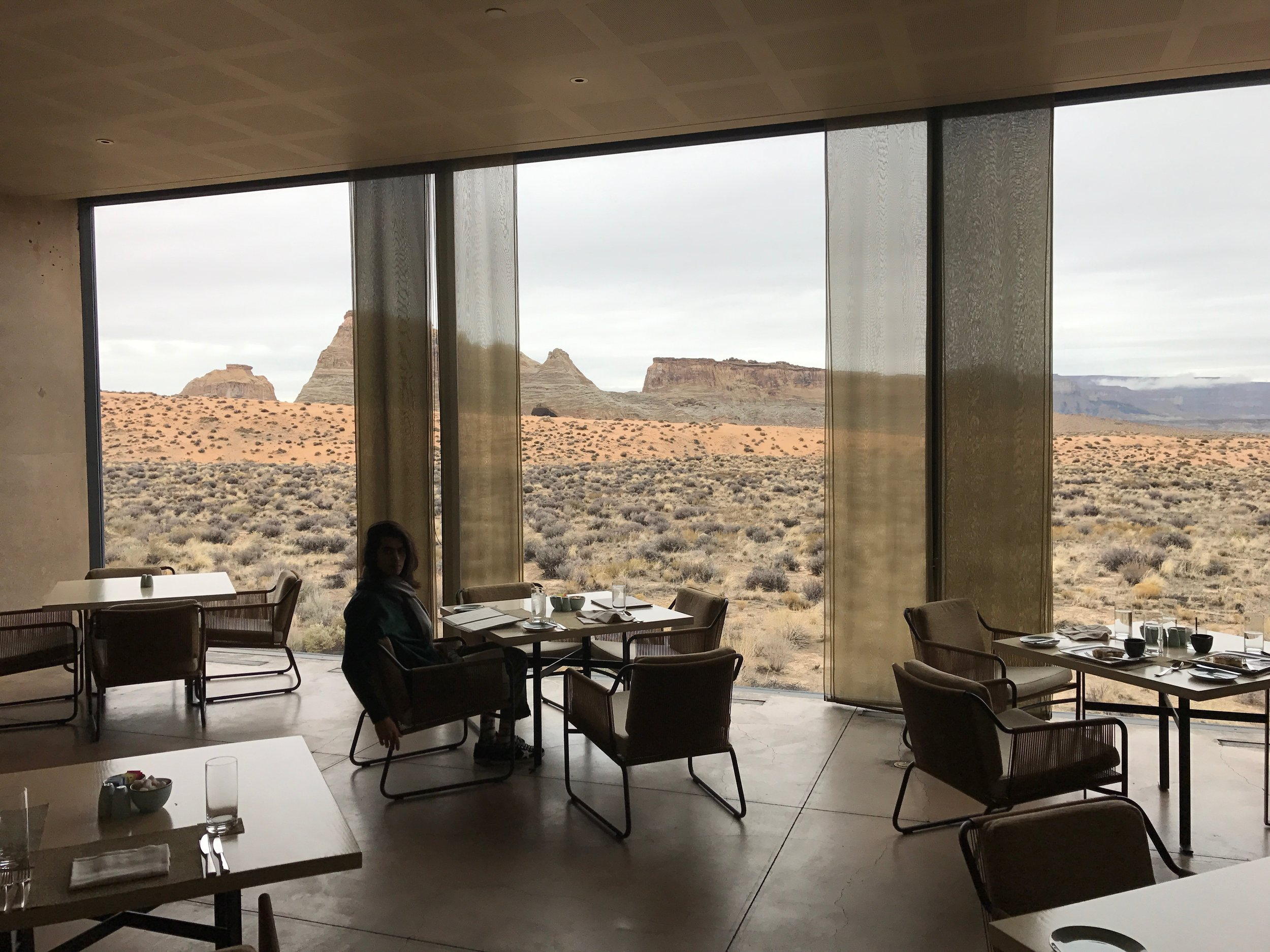 Dining Room at the Amangiri Hotel, Utah, USA - Roland Emmerich - 3 Days*