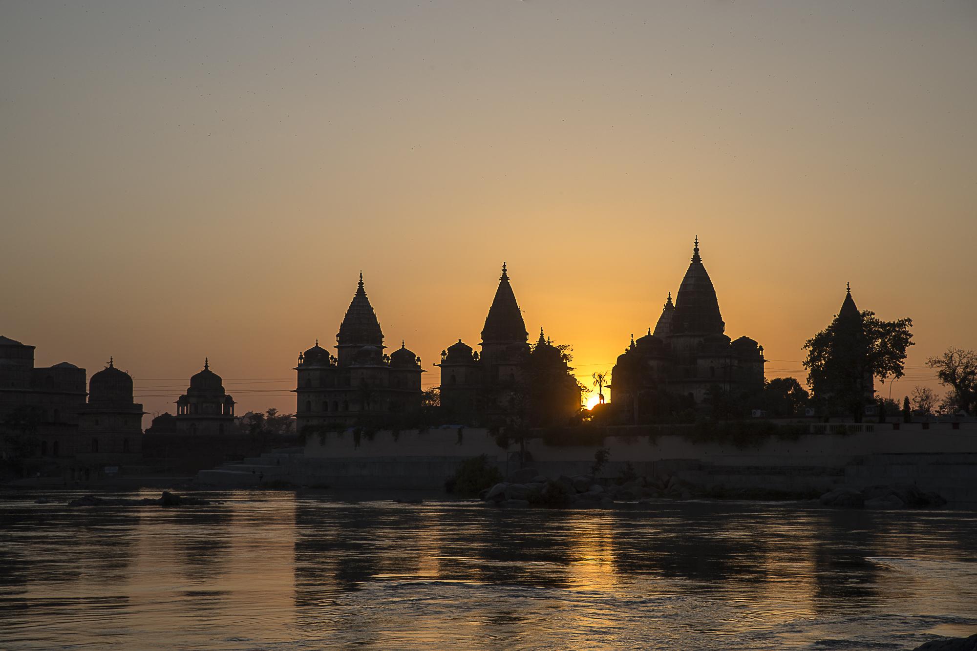 Oraccha, India - fortress at sunset, 3 Days*, Barbara Huber
