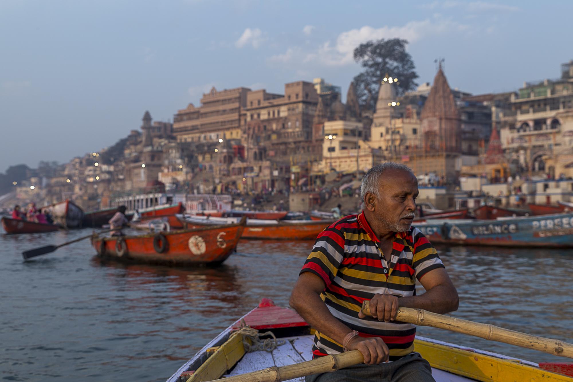 Varanasi, India - boatride along the ghats, 3 Days* - Barbara Huber
