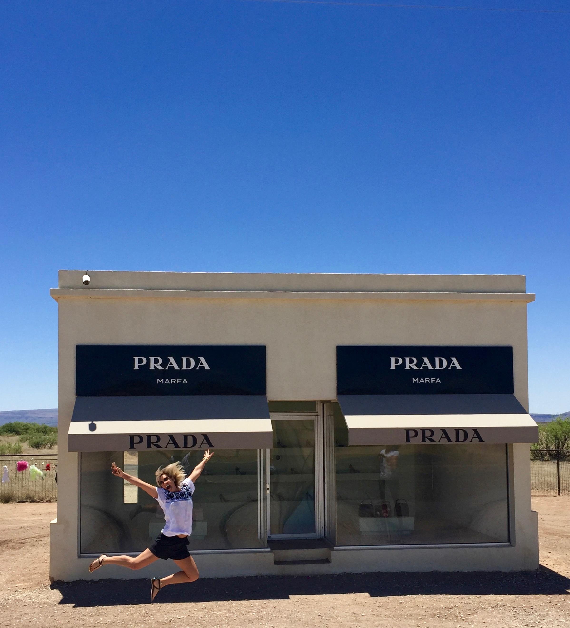 Prada store in Marfa, Texas - 3 Days*