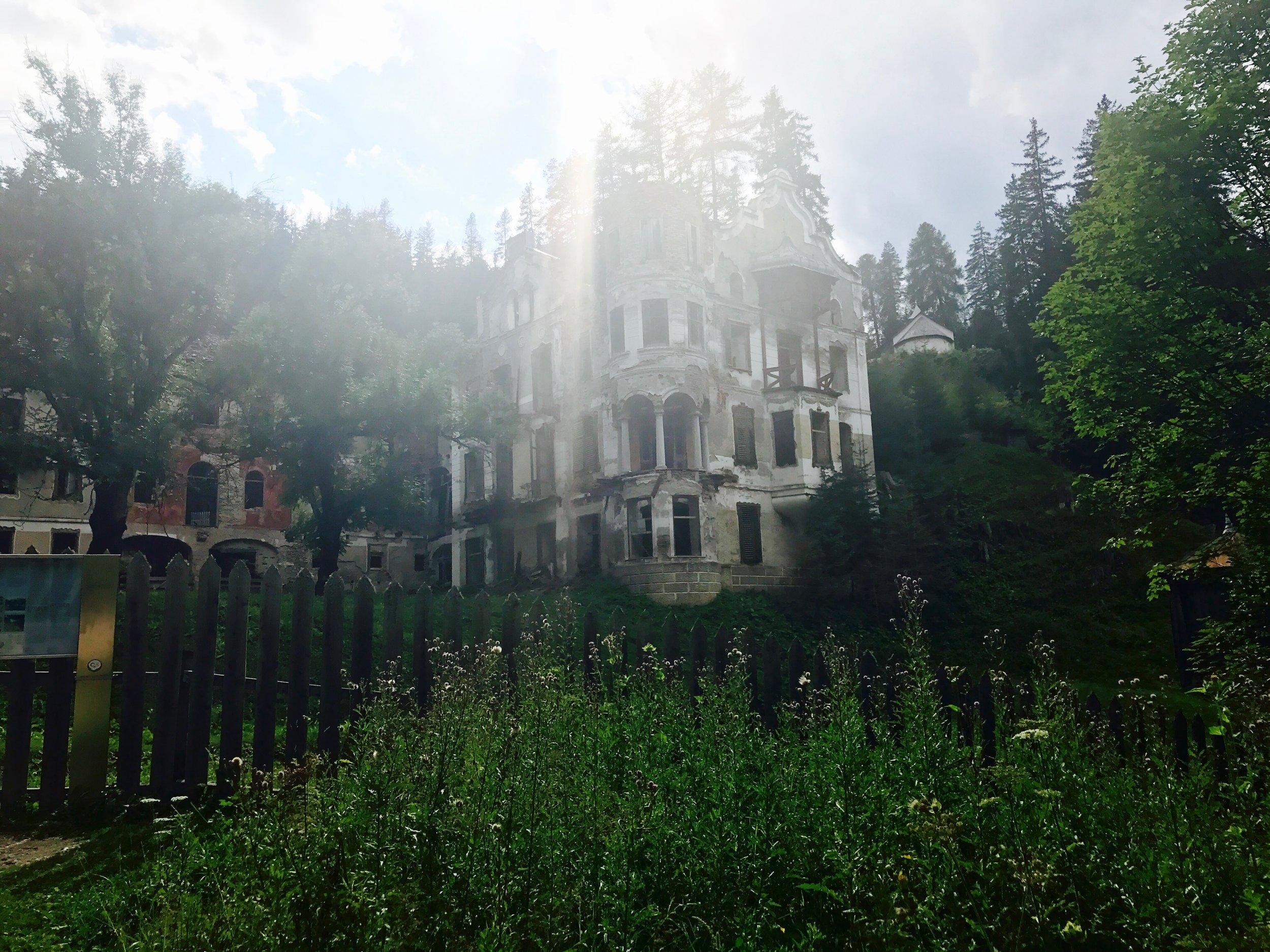 abandoned sanatorium, South Tyrol, Italy - 3 Days*