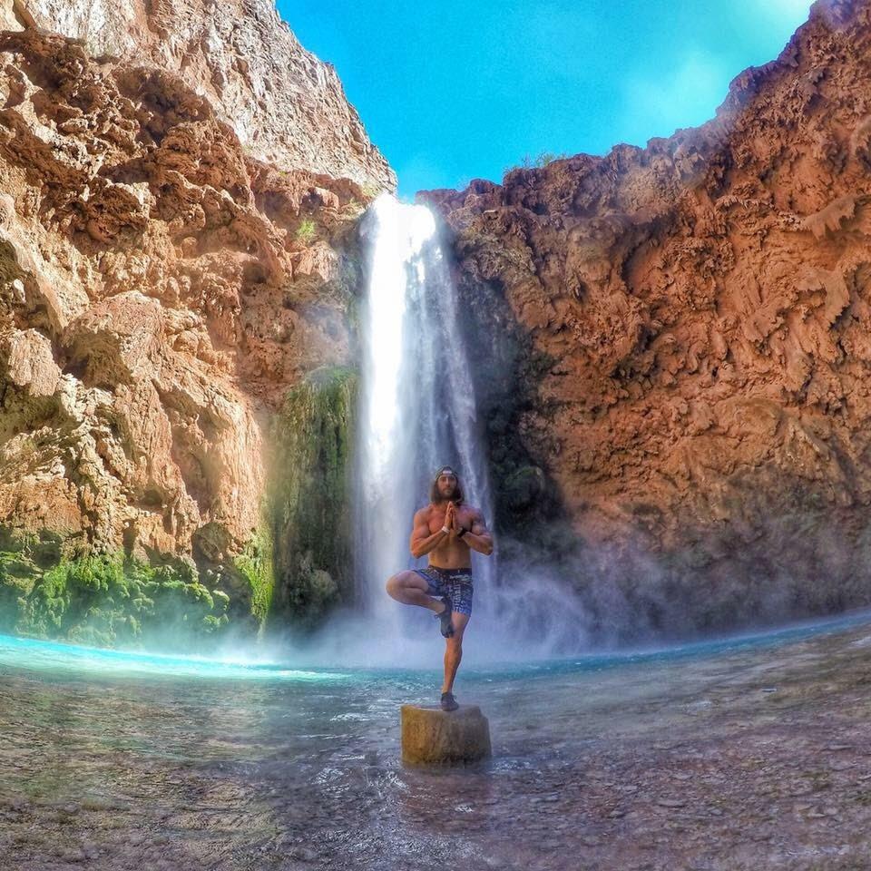 Aaron Medeiros on spirituality, Havasu Falls, Arizona, US - 3 Days*